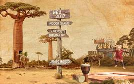 Neue Attraktionen im Serengeti-Park 2016