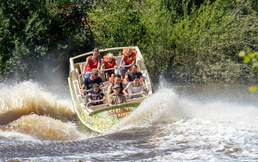 Black Mamba Jetboot im Serengeti-Park