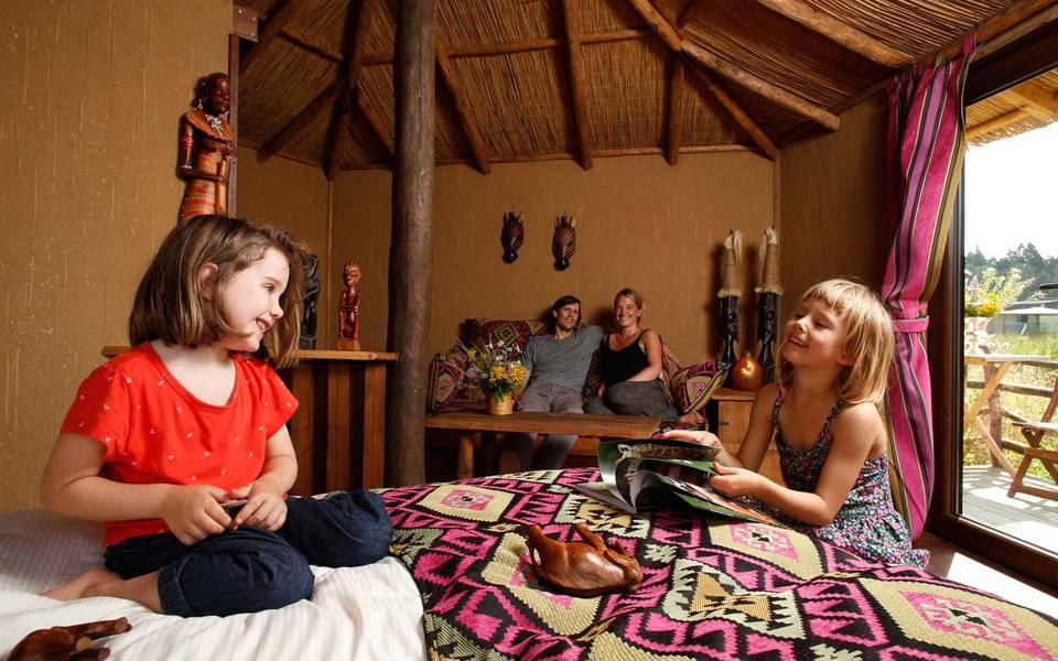 Familienfreundlicher Urlaub in der Masai Mara-Lodge