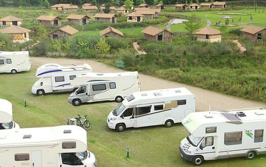 Wohnmobilstellplatz im Serengei-Park