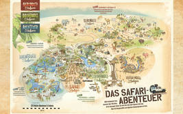 Parkplan 2018 Serengeti-Park