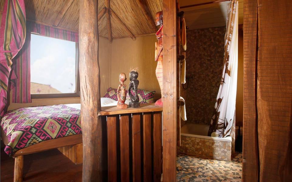 Innenausstattung der Masai Mara Lodge