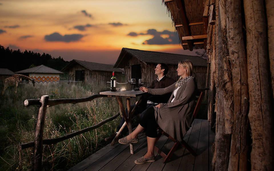 Masai-Mara Anlage Serengeti-Park