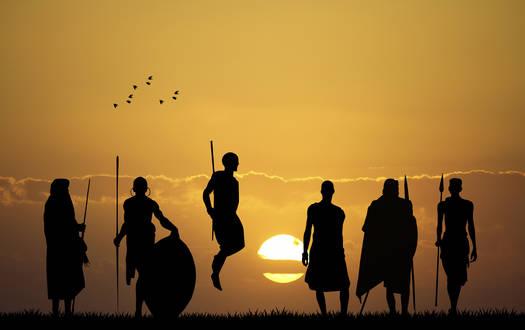 Masai-Stammesspiele - Serengeti-Park