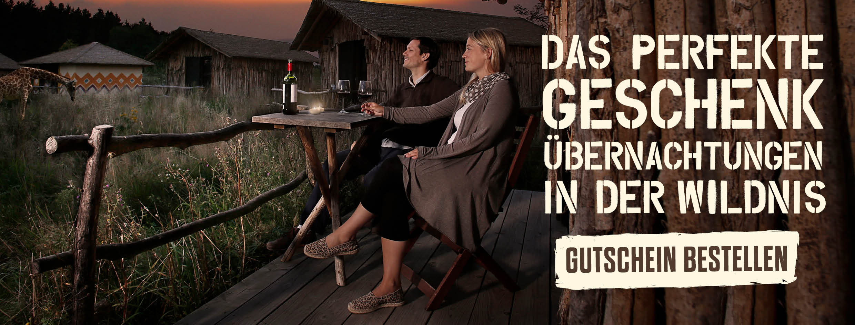 Übernachtungsgutscheine für den Serengeti-Park