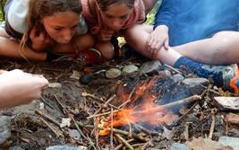 Serengeti-Camp bei Camp Adventure