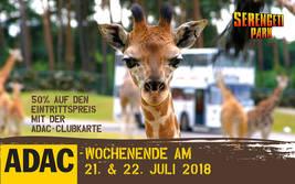 ADAC-Wochenende 2018 im Serengeti-Park