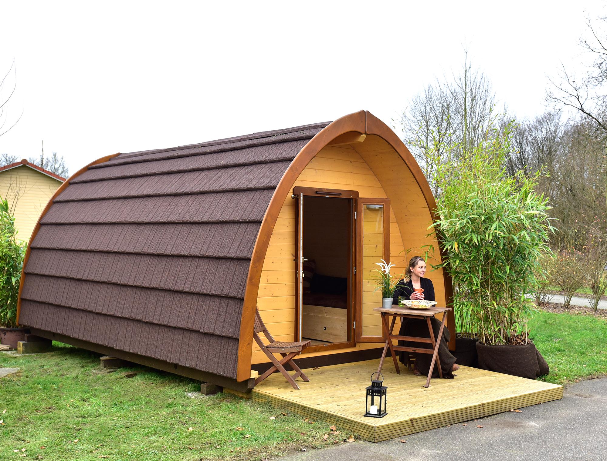Gemütliche Podhäuser: Die neuen Dschungel-Lodges