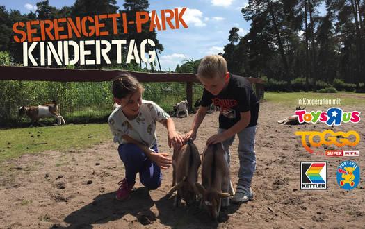 Serengeti-Park Kindertag am 14. Juli 2018