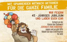 Die Kindertage 2019 im Serengeti-Park Hodenhagen