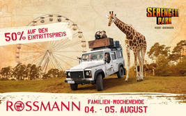 Rossmann Familien-Wochenende