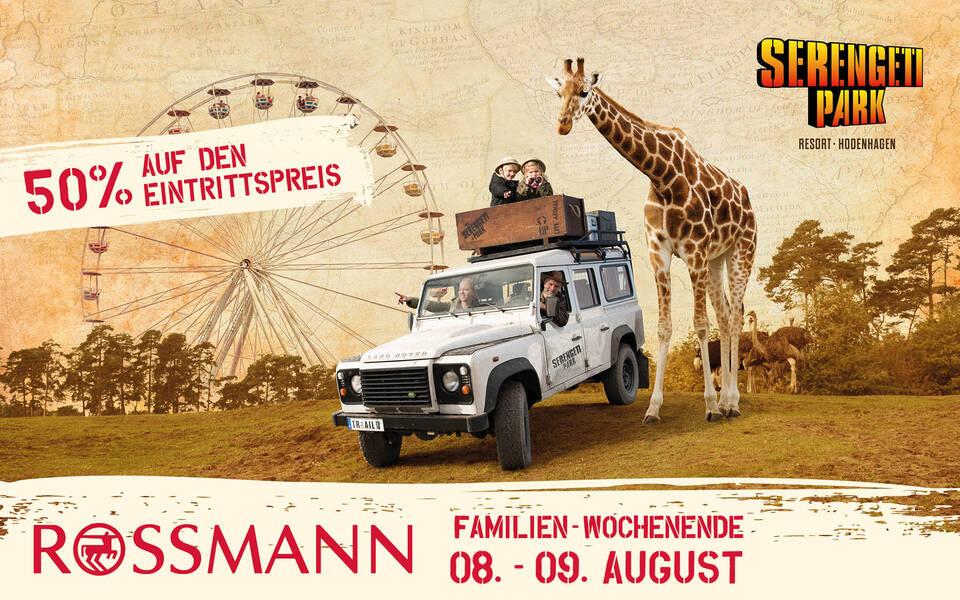 Rossmann Familienwochenende 2020 im Serengeti-Park