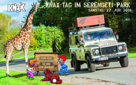 Der KNAX-Tag 2019 im Serengeti-Park