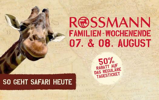 Rossmann-Familienwochenende 2021 im Serengeti-Park