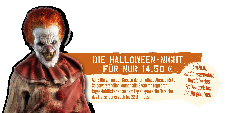 Die Halloween-Night im Serengeti-Park