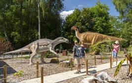 Jurassic-Safari im Serengeti-Park