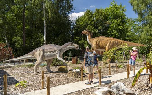 Die Jurassic-Safari im Serengeti-Park