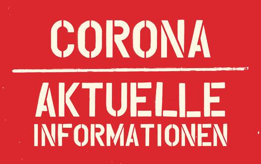 Aktuelle Besucherinformationen Corona