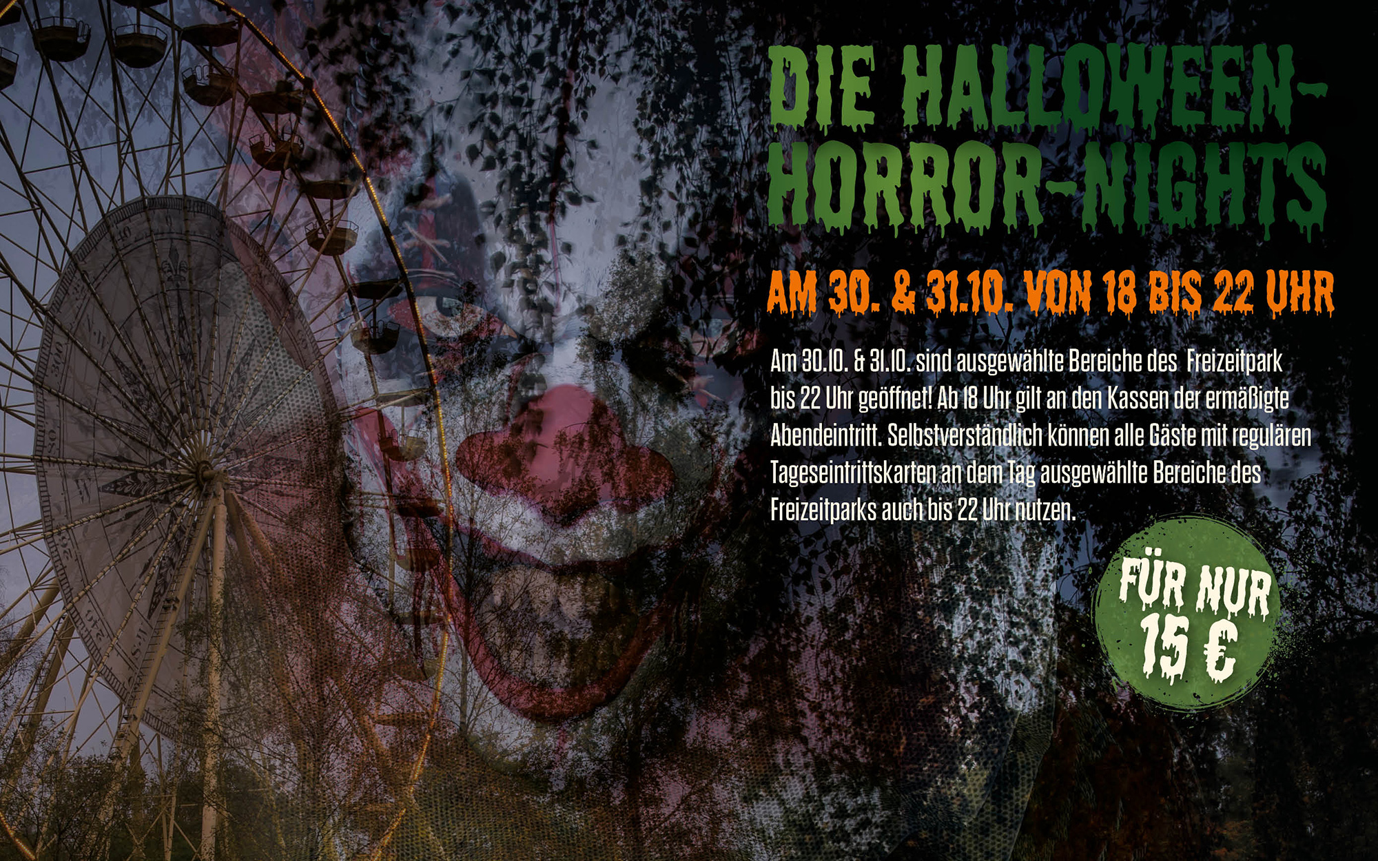 Die Halloween-Horror-Nights 2020 im Serengeti-Park