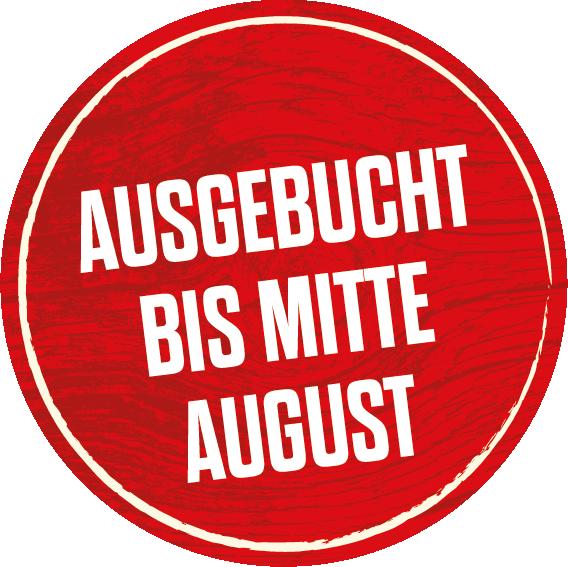Lodges ausgebucht bis Mitte August