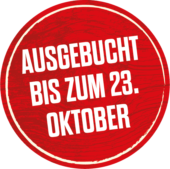 Lodges ausgebucht bis 23. Oktober