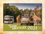 Wandkalender Safari-Abenteuer 2021