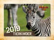 Wandkalender Tierkinder 2019