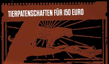 Tierpatenschaften für 150 Euro