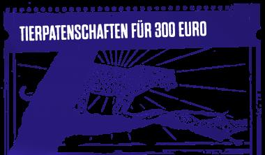 Tierpatenschaften für 300 Euro
