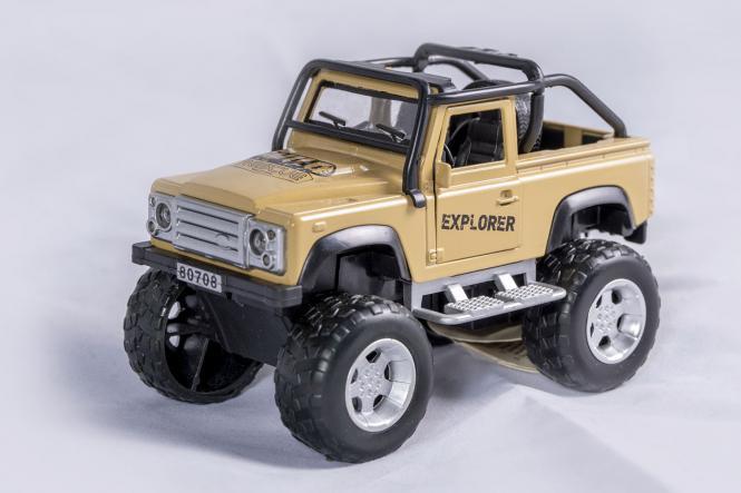 Raw Wheels Jeep
