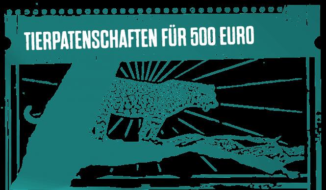 Tierpatenschaften für 500 Euro
