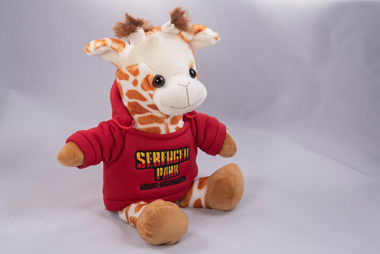 Giraffe mit Serengeti-Pulli