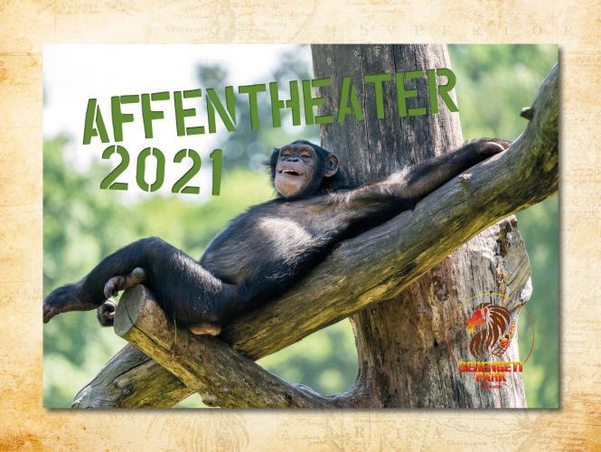 Wandkalender Affentheater 2021